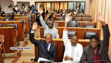Assemblée Nationale-modification de la charte des partis politiques