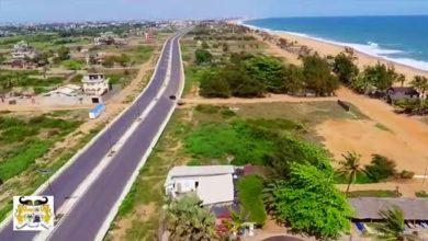 Réévaluation de l'emprise du projet Route des pêches_Bénin