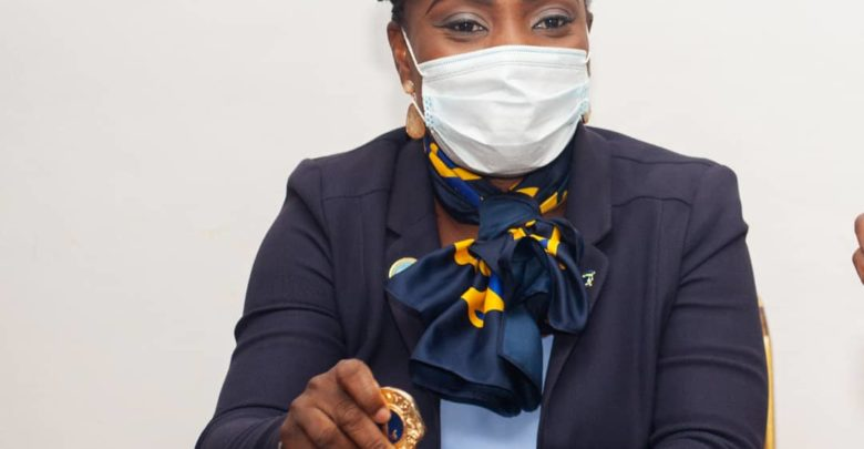Bénin : Rosemonde Michaï investi présidente de Lions Club Cotonou Émeraude.