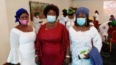 Sortie de l'Organisation des femmes du BR : Les amazones de Moele-Bénin ont soutenu leurs sœurs