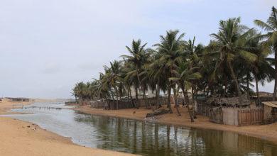 Segment transfrontalier de côte Bénin-Togo menacé par l'érosion côtière_l'appui du projet WACA