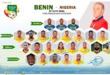Can 2022/Bénin-Nigéria : Voici le onze entrant du Bénin