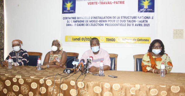 Campagne électorale : Moele-Bénin installe son équipe de choc pour la victoire du duo Talon-Talata