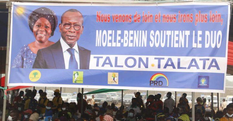 Meeting de Talon à Dassa-Zoumé : Présence remarquable de militants et responsables de Moele-Bénin
