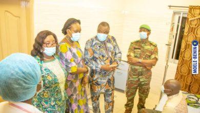 Moele-Bénin visite les militaires blessés lors des violences électorales