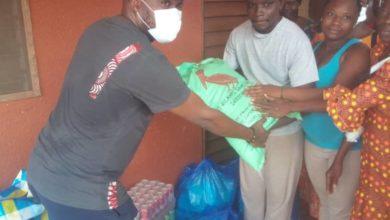 Saint Camille de Tokan : Le Cmp fait don de vivres aux pensionnaires